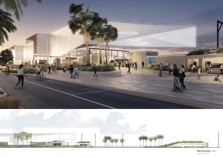 frankston station competition_genton_03
