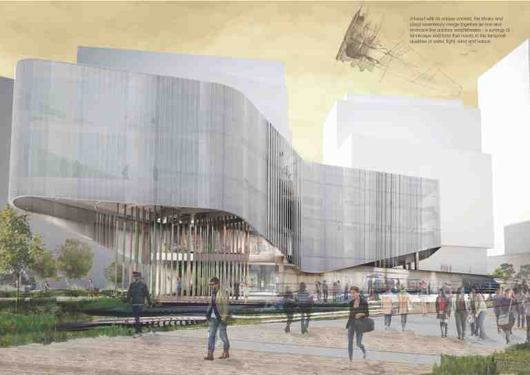 green square_library + plaza competition_jpe-snohetta_01