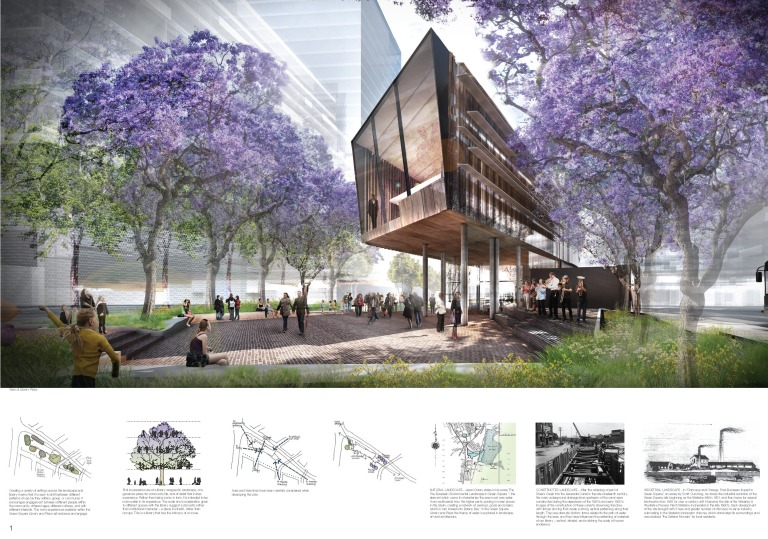 green square_library + plaza competition_wardle_01