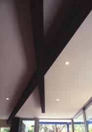 McEwin Pace Residence 11_black beams 3_Stephen Varady Photo ©
